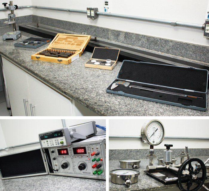 Laboratório Medição Uberlândia