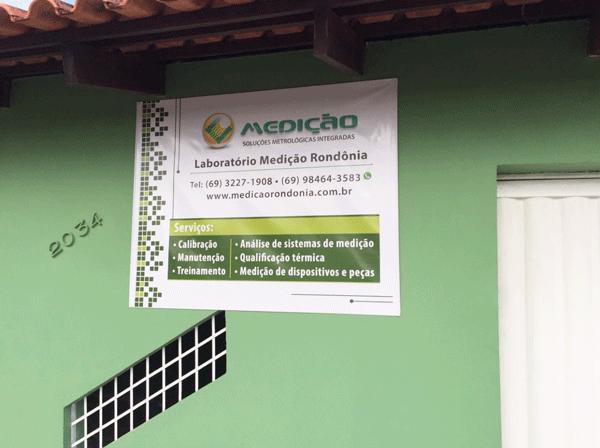 Laboratório Medição Rondônia