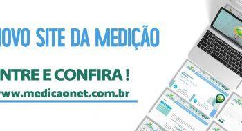 Você já conhece o Novo Site da Medição?