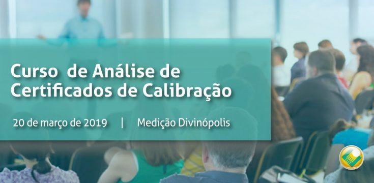 Análise de  Certificado de Calibração | Medição Divinópolis