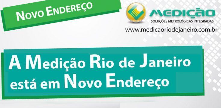 O Laboratório Medição Rio de Janeiro  está em Novo Endereço