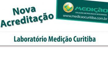 Nova acreditação Laboratório Medição Curitiba